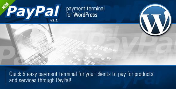 CodeCanyon PayPal Payment Terminal Wordpress 166082