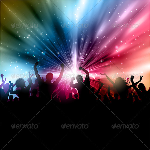 GraphicRiver Party Background 4869459