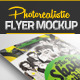 Photorealistic Flyer Mock-up  - GraphicRiver Item for Sale