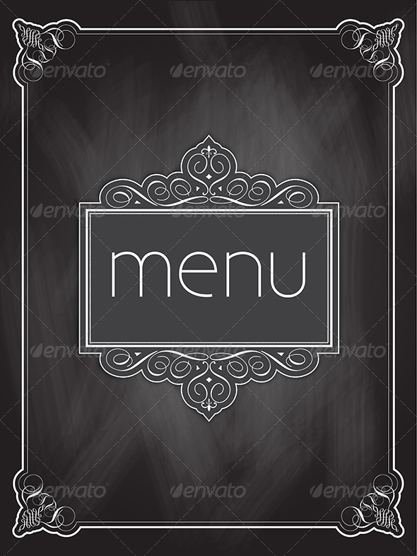 GraphicRiver Menu Design 4869507