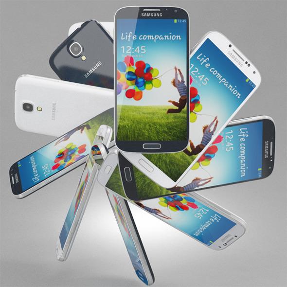 3DOcean Samsung Galaxy S 4 4869573
