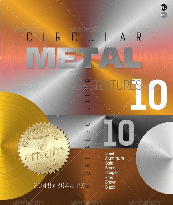 3DOcean Circular Metal Texture 4848999
