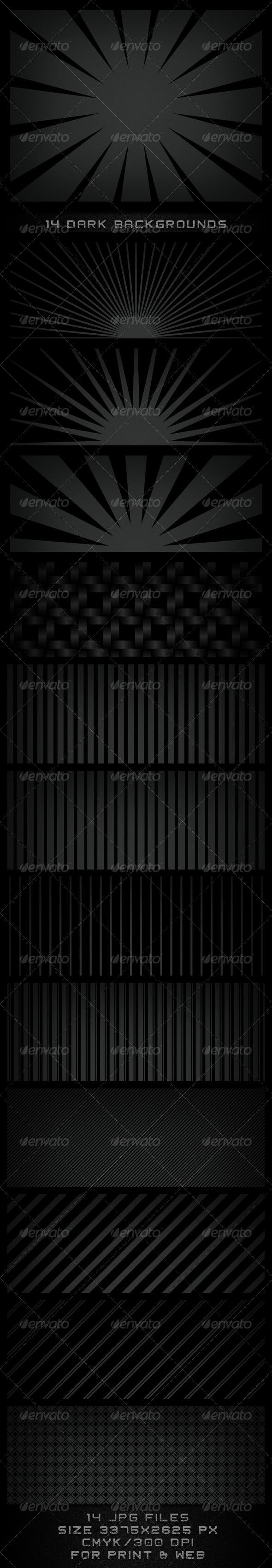 GraphicRiver Dark Backgrounds 502425
