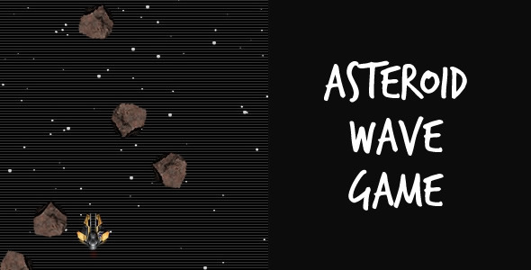 Asteroid Wave Game - ActiveDen Item for Sale