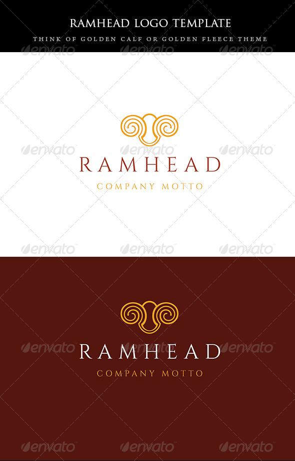 ramhead logo - Animals Logo Templates