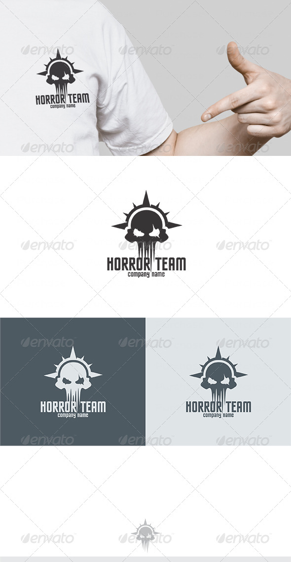 Horror Team Logo - Symbols Logo Templates
