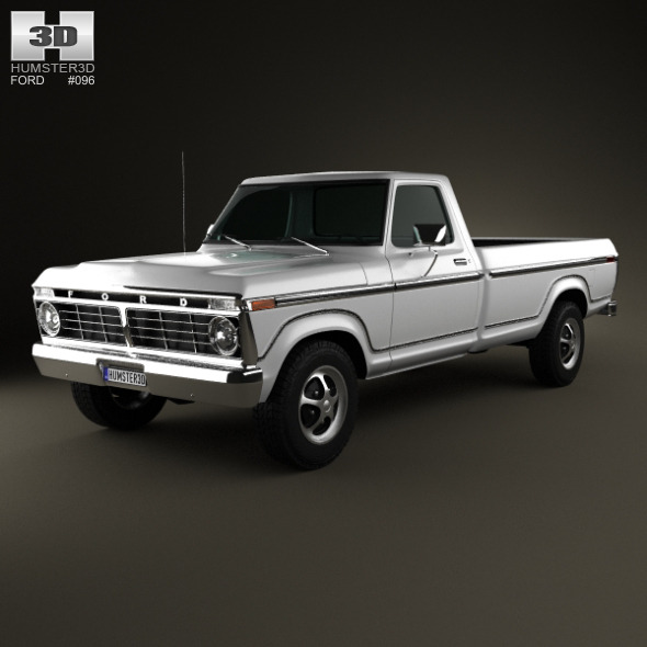 3DOcean Ford F-150 1973 4871058