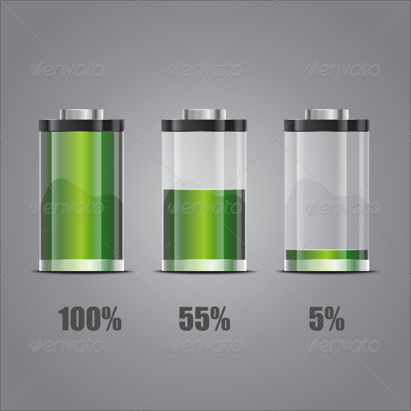 GraphicRiver Concept-Battery Life EPS10 4871239