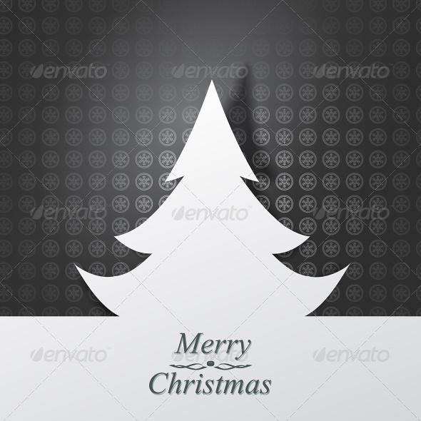 GraphicRiver Christmas Card Vector Illustration 4871312