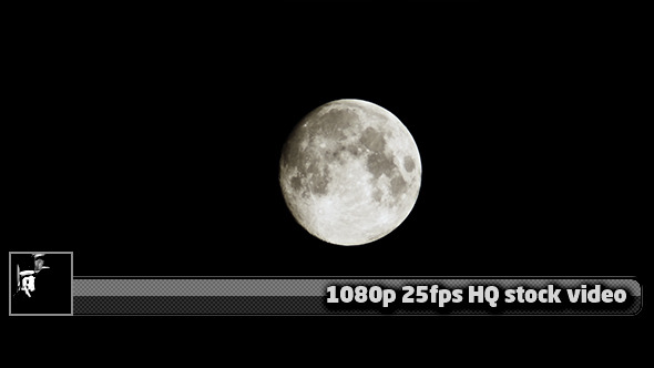 Moon Close Up Time Lapse