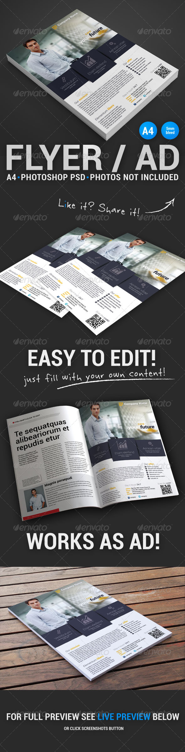 GraphicRiver Corporate Flyer 6 4871600