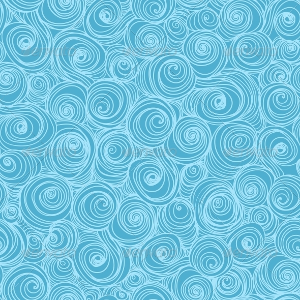GraphicRiver Waves and Curls Background 4871630
