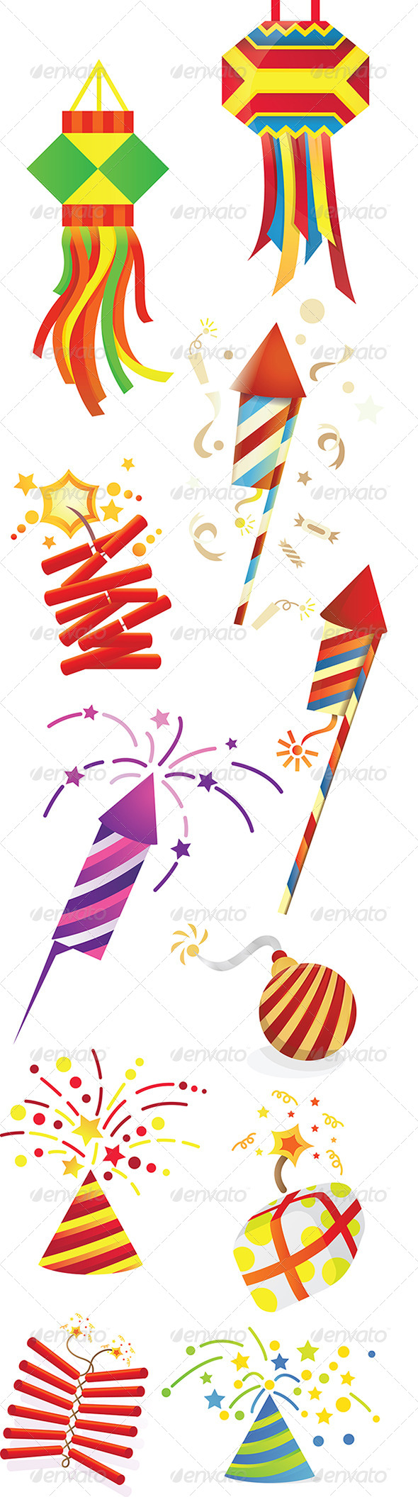 GraphicRiver Celebration Decoratives 4872165