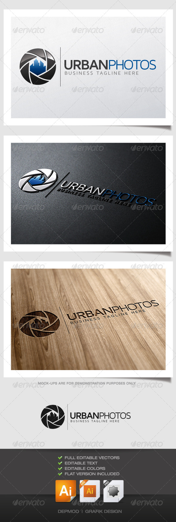 GraphicRiver Urban Photos Logo 4872602