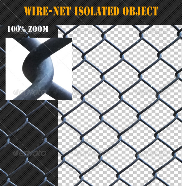 Wire-Net Isolated Object