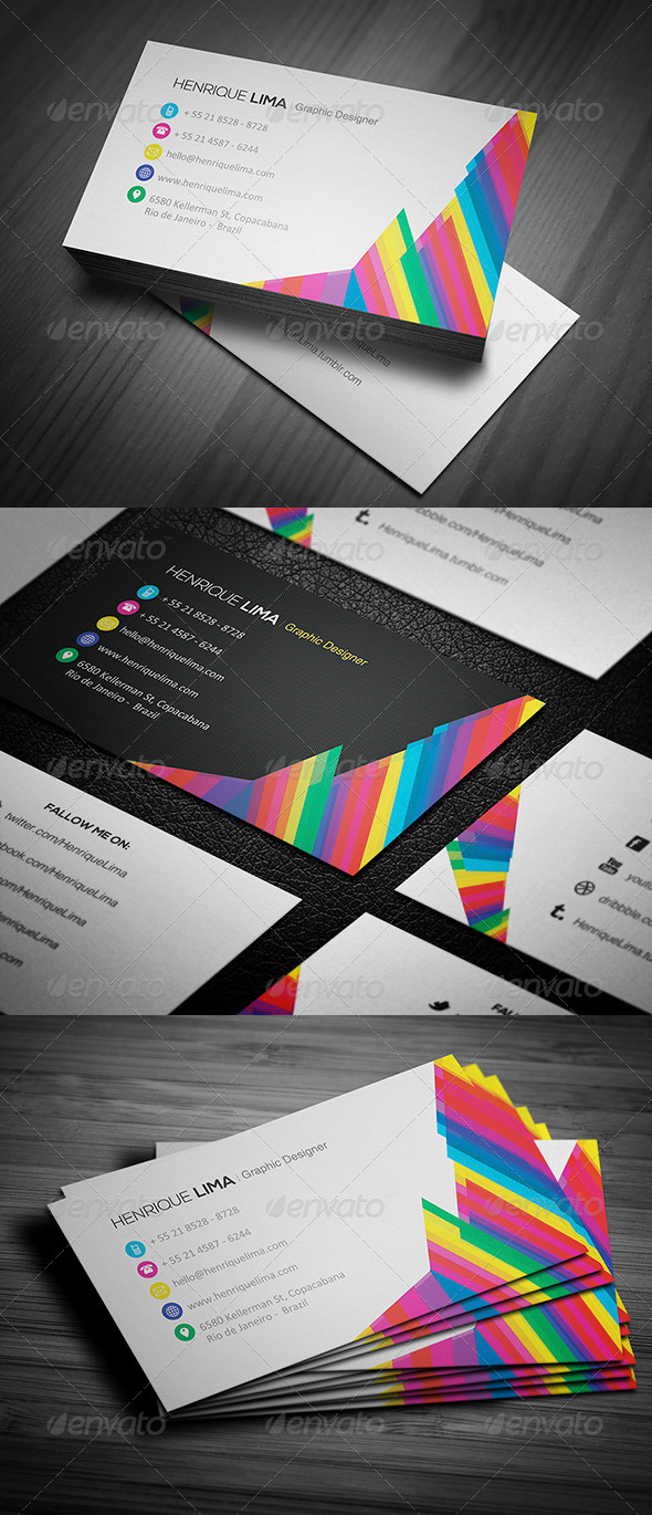 GraphicRiver Creative Business Card 002 4874121