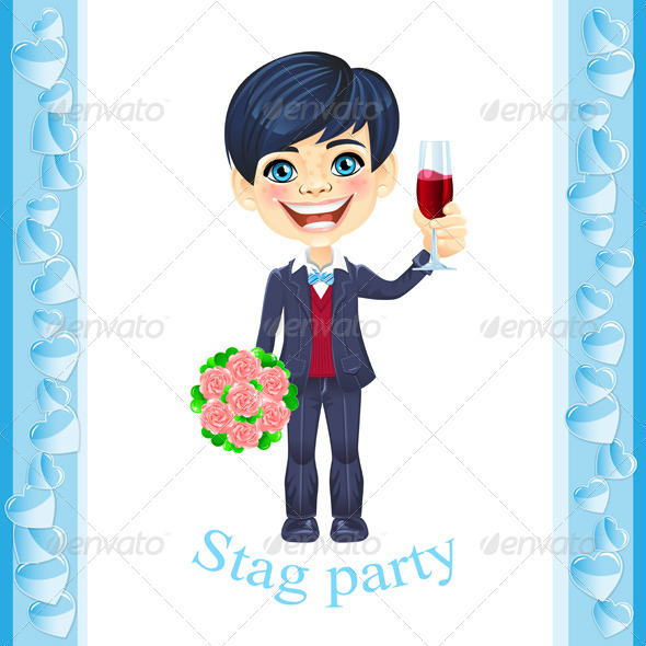 GraphicRiver Stag Party Invitation 4874428