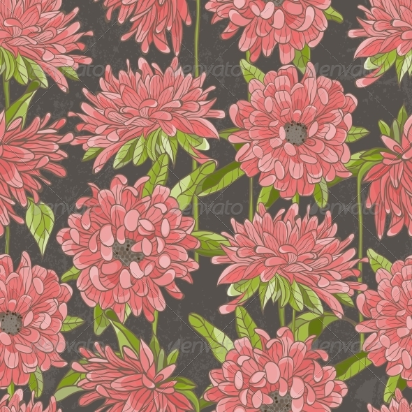 GraphicRiver Seamless Floral Pattern 4874728