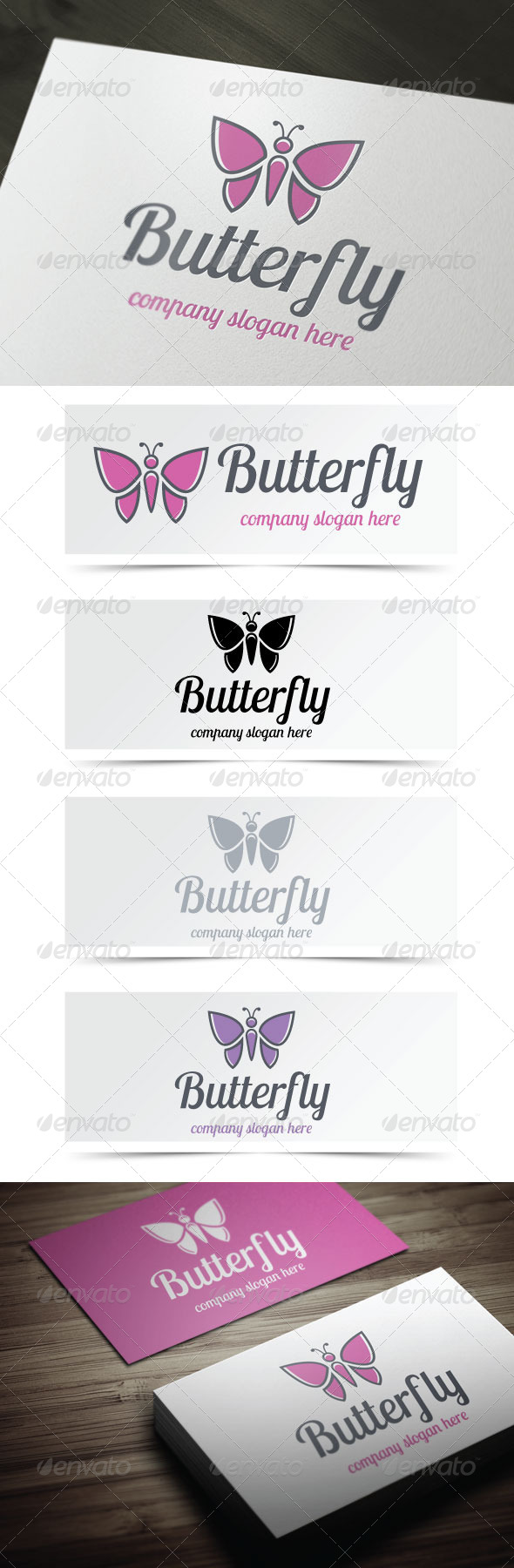 GraphicRiver Butterfly 4843708