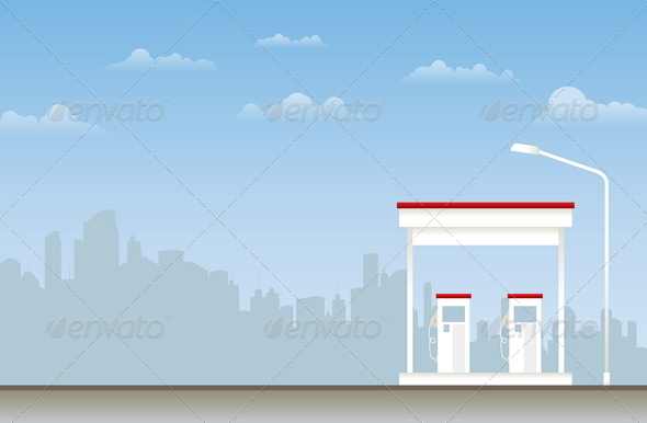 GraphicRiver Gas Station 4875568