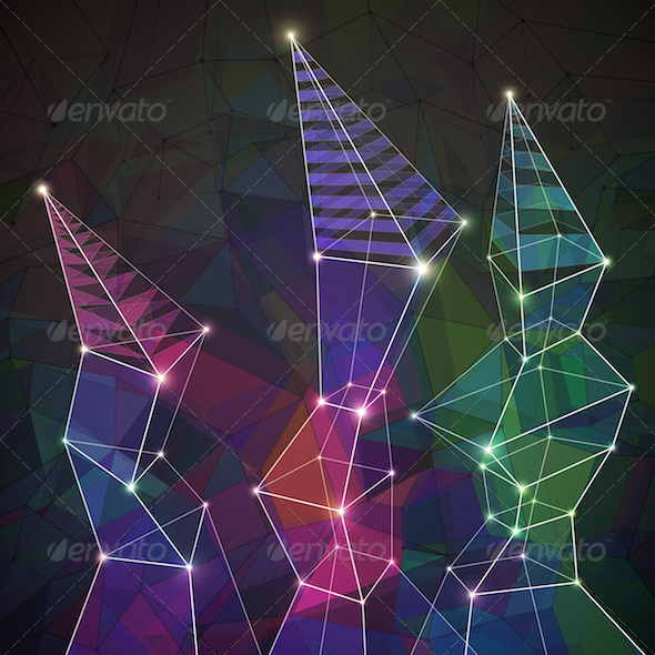 GraphicRiver Geometric Background 4876001