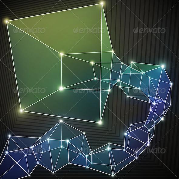 GraphicRiver Colorful Geometric Background 4876089