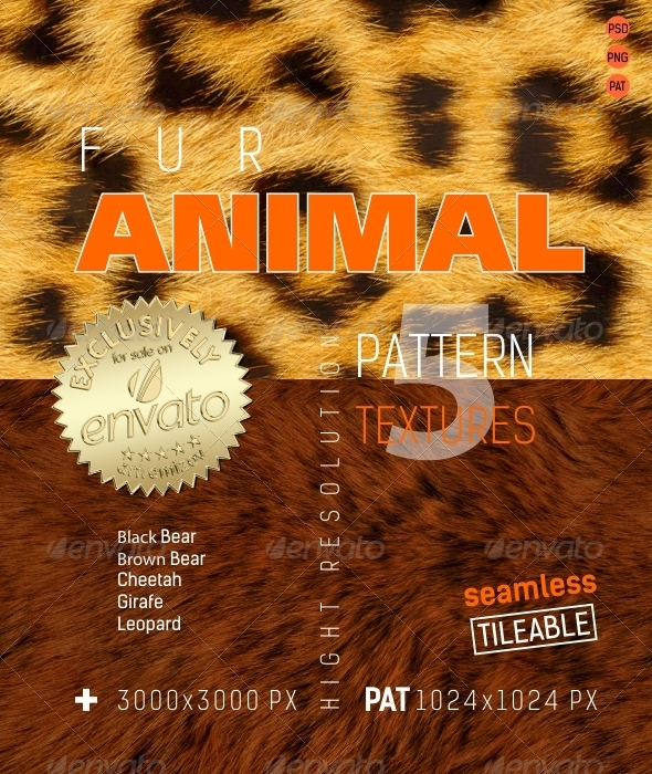 3DOcean Fur Animal Texture 4849299