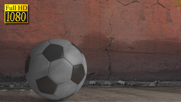 3D Soccer Ball Bouncing