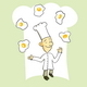 Juggling Chef - GraphicRiver Item for Sale