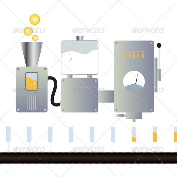 GraphicRiver Juice Machine 4877104
