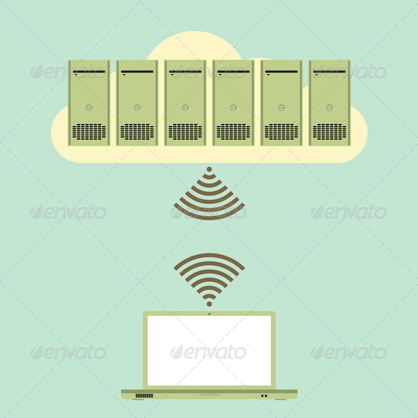 GraphicRiver Large Cloud Database Access 4877187