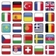 Europe Icons Squared Flags - GraphicRiver Item for Sale