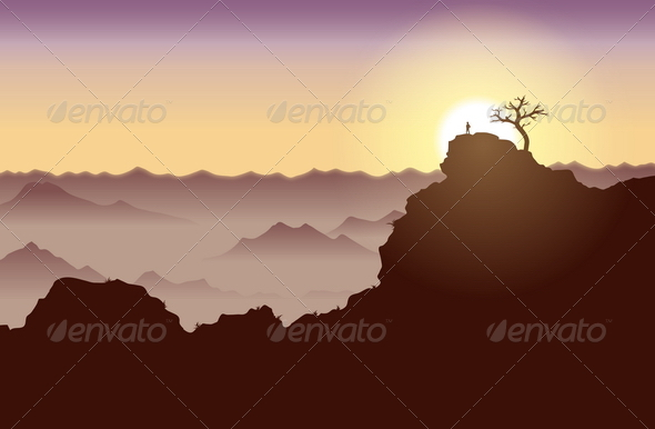 GraphicRiver On Top of the World 4878489