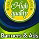 Web Banners Set with Scene for Product - GraphicRiver Item for Sale