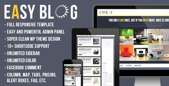 Easy Blog (Blog / Magazine) images