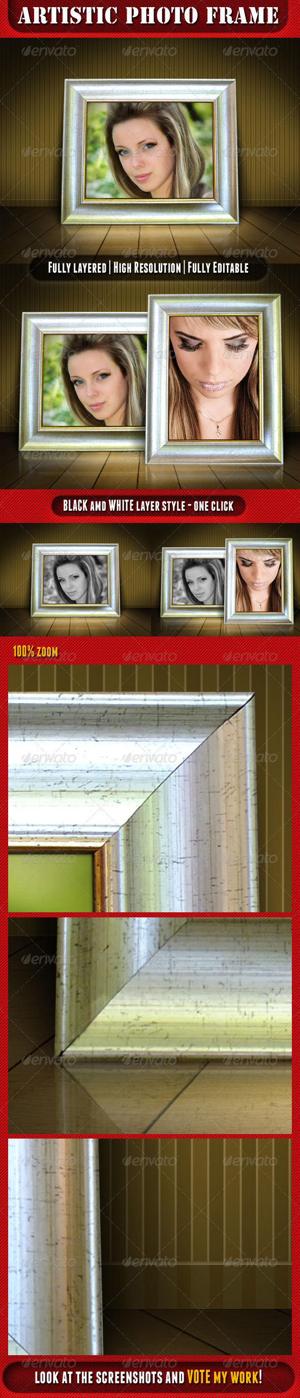 GraphicRiver Artistic Photo Frame 4859962