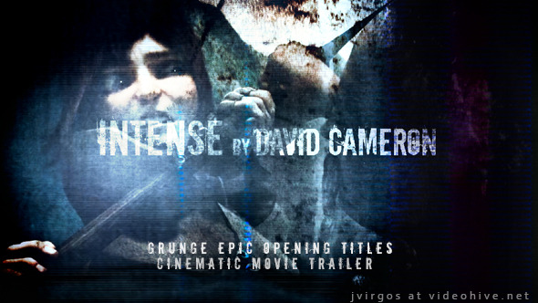 Grunge Epic Opening Titles - Cinematic Movie Trailer