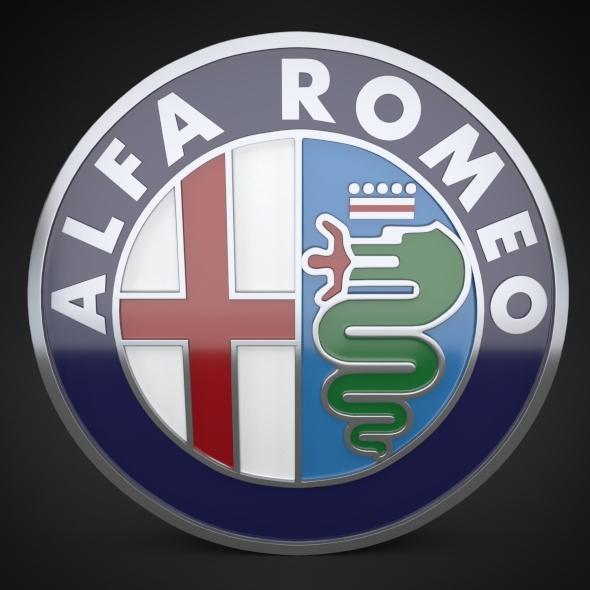 3DOcean Alfa Romeo Logo 4880530