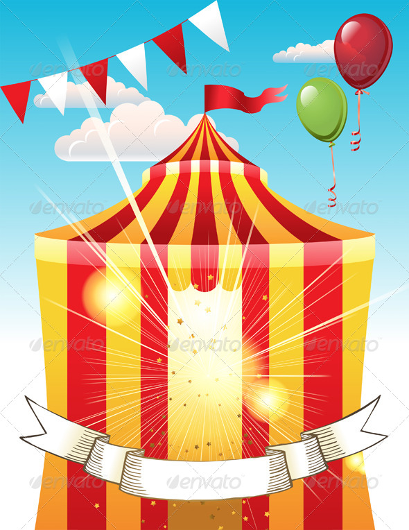 GraphicRiver Circus 4880716