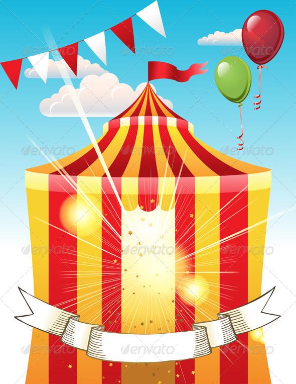 GraphicRiver Circus 4880716