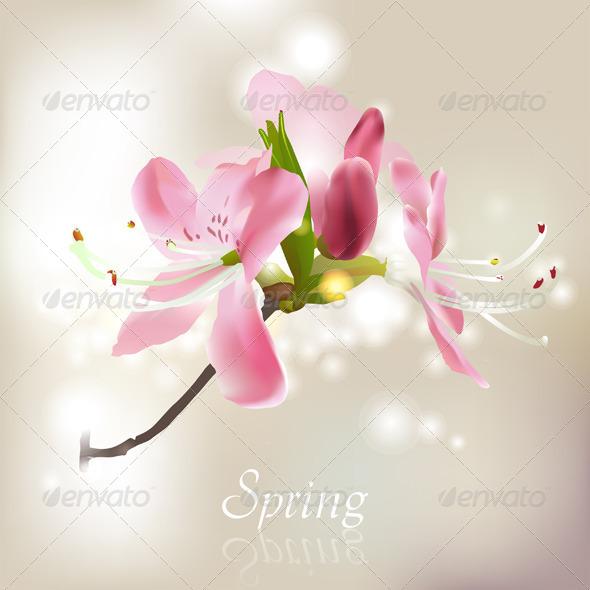 GraphicRiver Spring Blossom 4880812