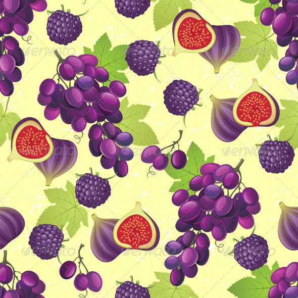 GraphicRiver Fruit Seamless 4880830