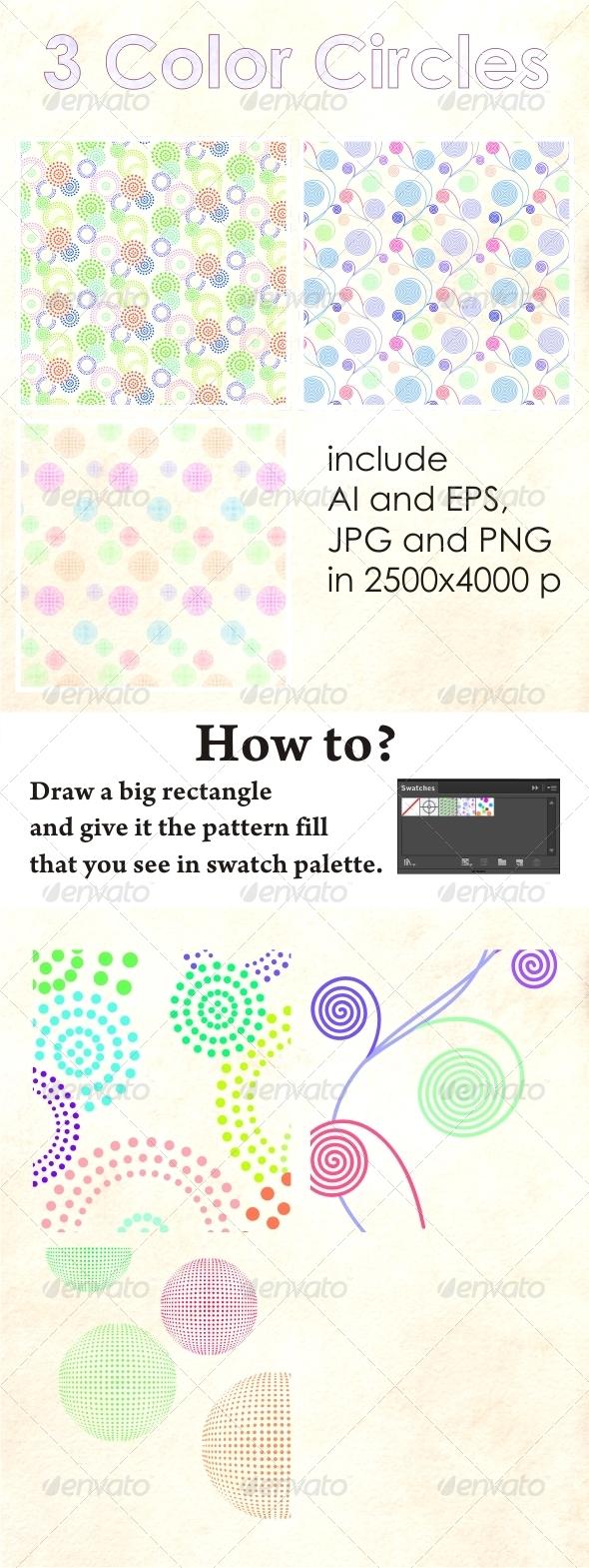GraphicRiver Color Circles 4881760