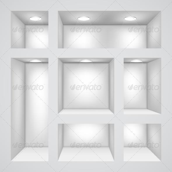 GraphicRiver Empty Shelves 4881858