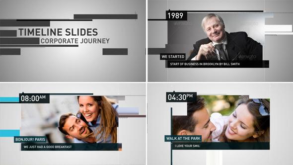 VIP模板-简约时尚公司企业宣传介绍时间线假期旅游幻灯片模板