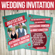 Retro Wedding Invitation - GraphicRiver Item for Sale