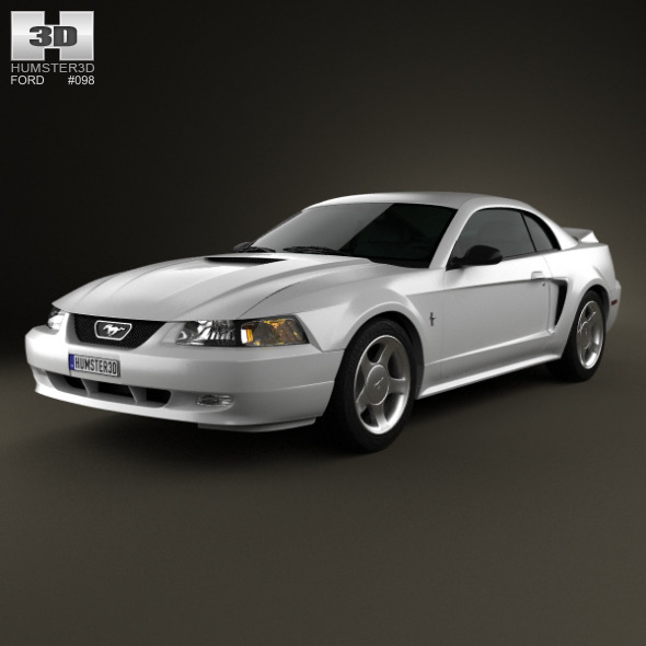 3DOcean Ford Mustang GT coupe 1998 4882590