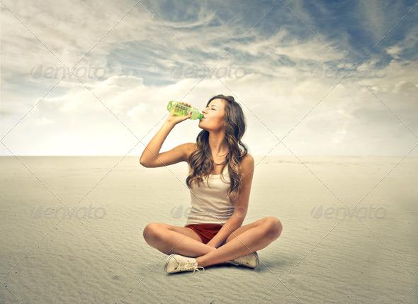 thirst - Stock Photo - Images