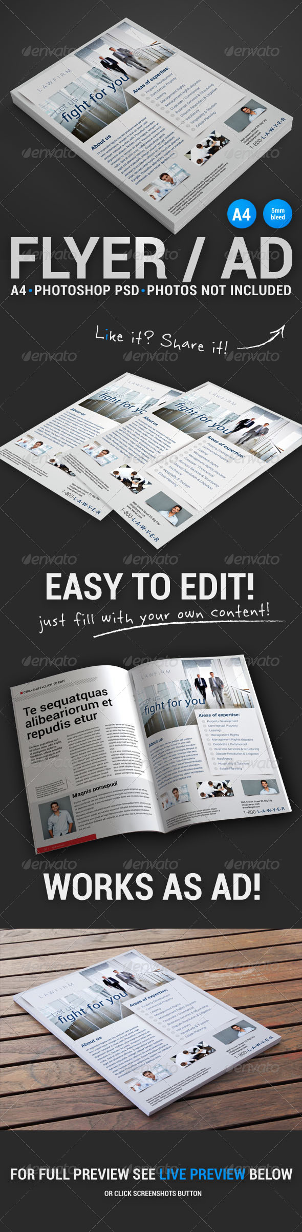 GraphicRiver Corporate Flyer 8 4882929