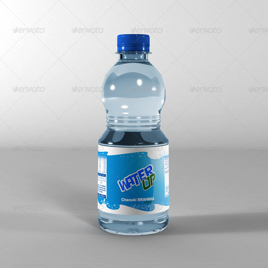 Water Bottle Mock-Up by Brahmia | GraphicRiver